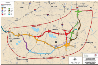 Southeast highway 540 extension