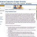 NC drug treatment court website