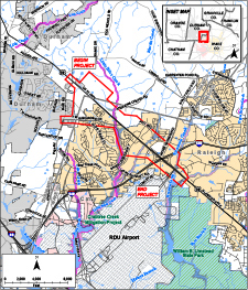 map of highway 70 eminent domain